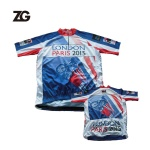 Custom London Paris Cycling Jersey