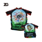 Custom Colorful Cycling Sublimated Shirts