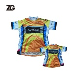 Sublimated Team Cycling Shirt