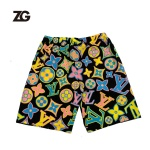 LV style Fashion Beach Shorts