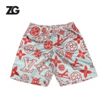 Custom Own Design LV pattern Beach Shorts